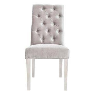 Leslie Gray Side Chair