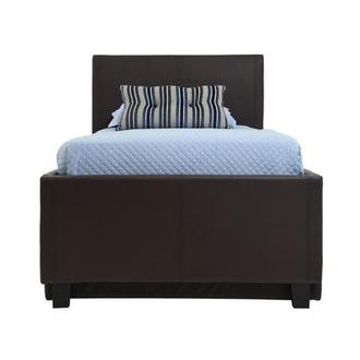 Tate Brown Twin Bed w/Trundle