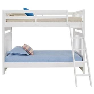 Chris White Twin Over Twin Bunk Bed