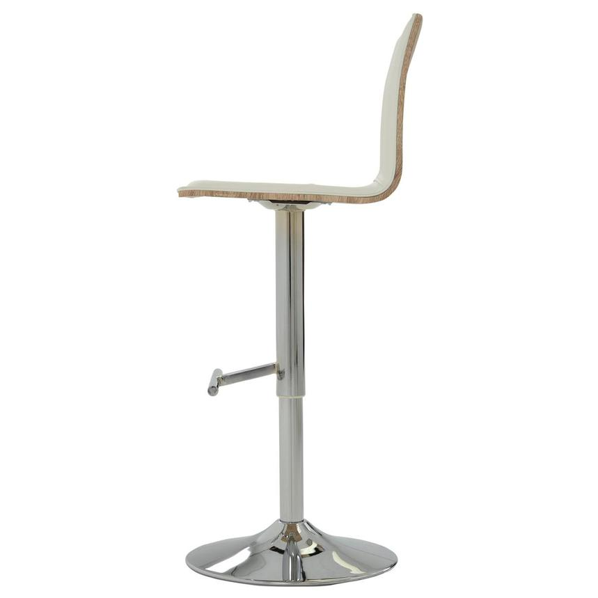 Solimar White Adjustable Stool  alternate image, 4 of 9 images.