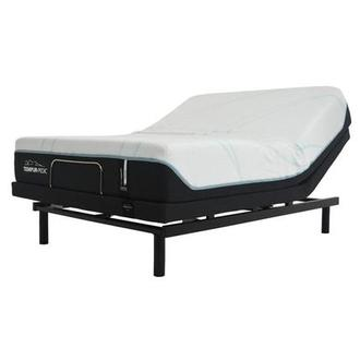 ProAdapt Medium Queen Memory Foam Mattress w/Ergo® Powered Base by Tempur-Pedic