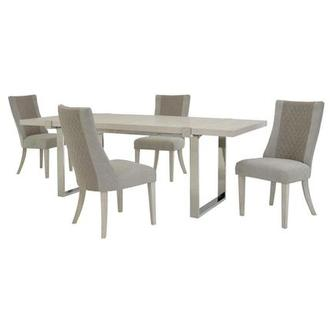 Paradox 5-Piece Formal Dining Set