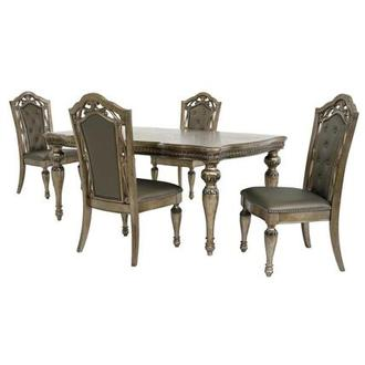 Seville 5-Piece Formal Dining Set