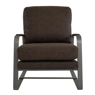 Isa Brown Accent Chair