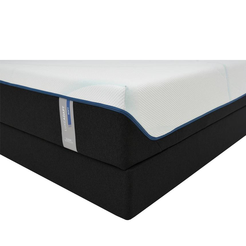 Luxe-Adapt Soft Queen Mattress w/Low Foundation by Tempur-Pedic  main image, 1 of 6 images.