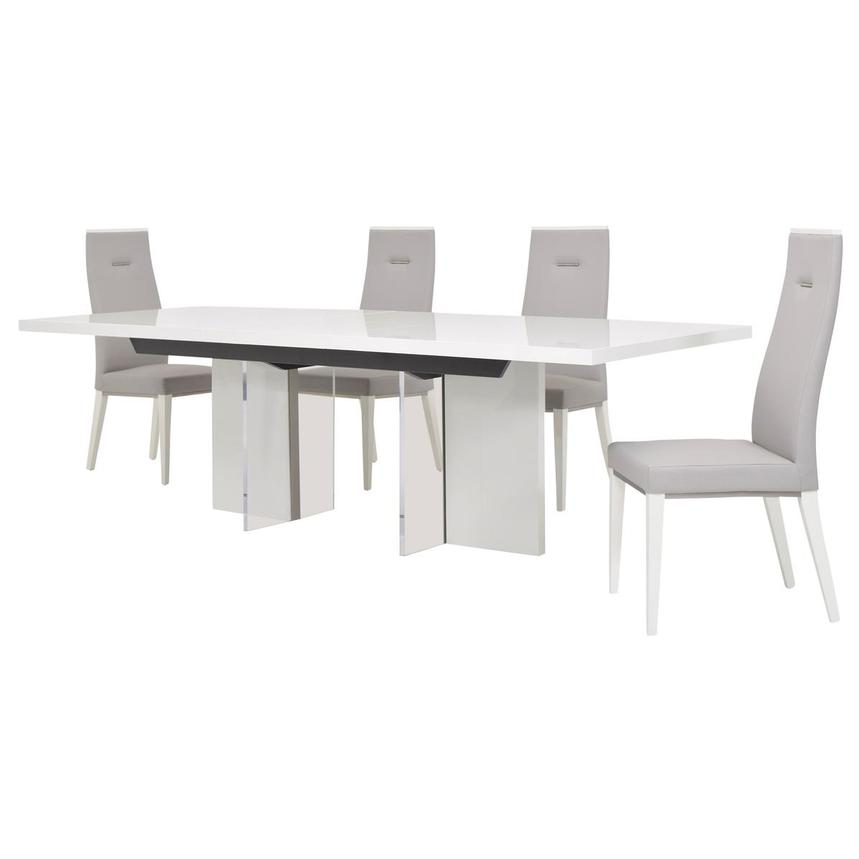 Siena 5-Piece Formal Dining Set Made in Italy  alternate image, 4 of 18 images.