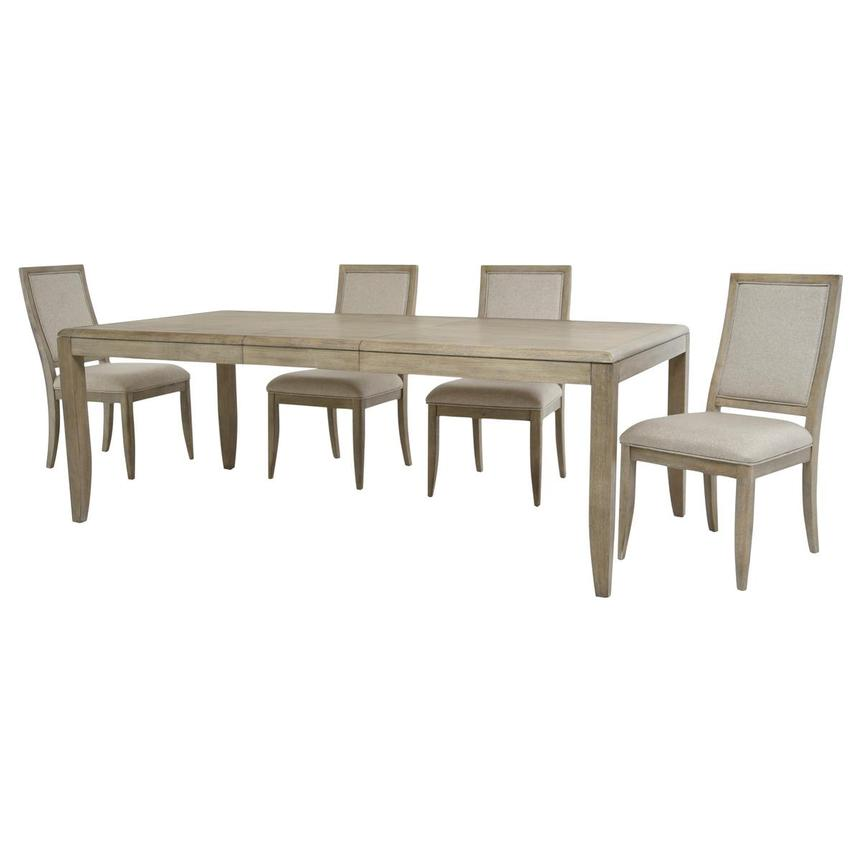 Juliana 5-Piece Formal Dining Set  alternate image, 3 of 16 images.