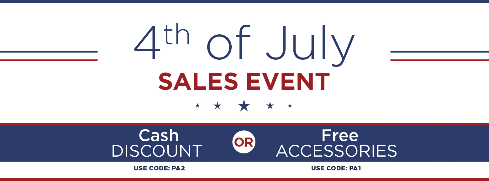 Fourth Of July Sales Event. Cash Discount. Use Code P A 2. Or.