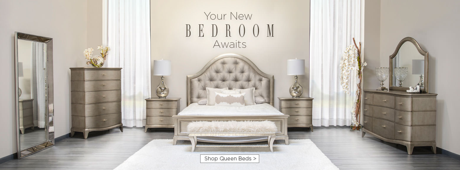 Merveilleux Your New Bedrooms Awaits. Shop Queen Beds.