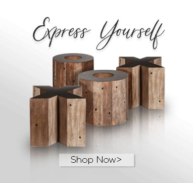 Express yourself. Shop now.