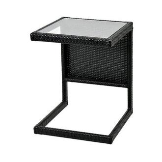 Neilina Black Side Table