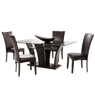 Daisy Brown 5-Piece Casual Dining Set