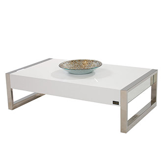 Tamara White Coffee Table