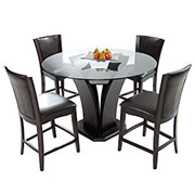 Daisy Brown 5-Piece High Dining Set  main image, 1 of 13 images.