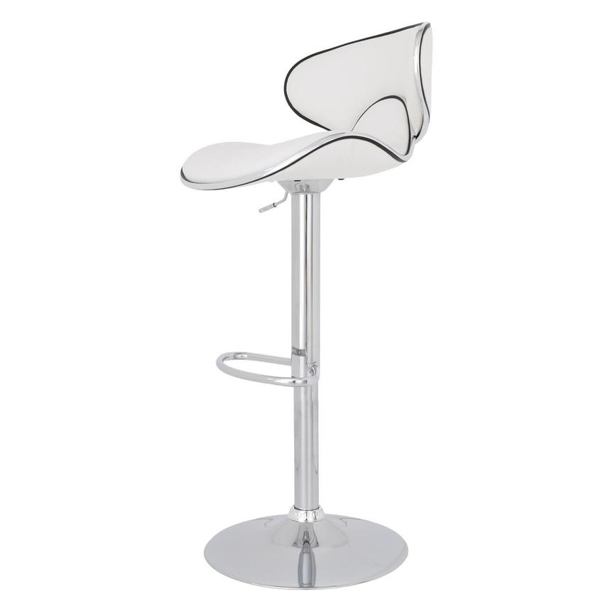 Clipper White Adjustable Stool  alternate image, 4 of 8 images.