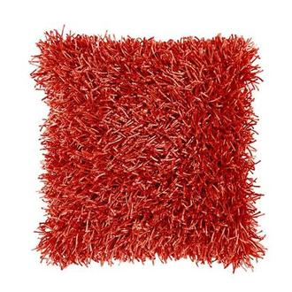 Sara Red Accent Pillow