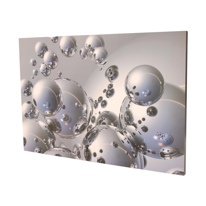 Silver Orbs Acrylic Wall Art  alternate image, 3 of 4 images.