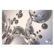 Silver Orbs Acrylic Wall Art  alternate image, 4 of 4 images.