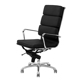Marconi Black High Back Desk Chair