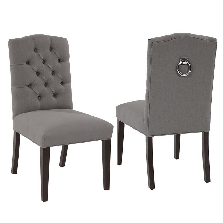 new photos 5f9cb cf5d2 Hudson Gray Side Chair