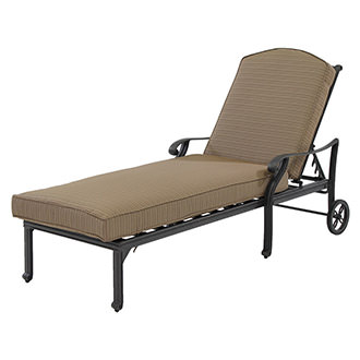 Castle Rock Brown Chaise Lounge