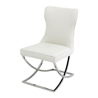 Amanda White Side Chair