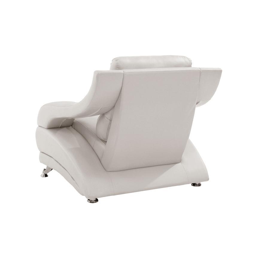 Strange Jedda White Leather Chair Machost Co Dining Chair Design Ideas Machostcouk
