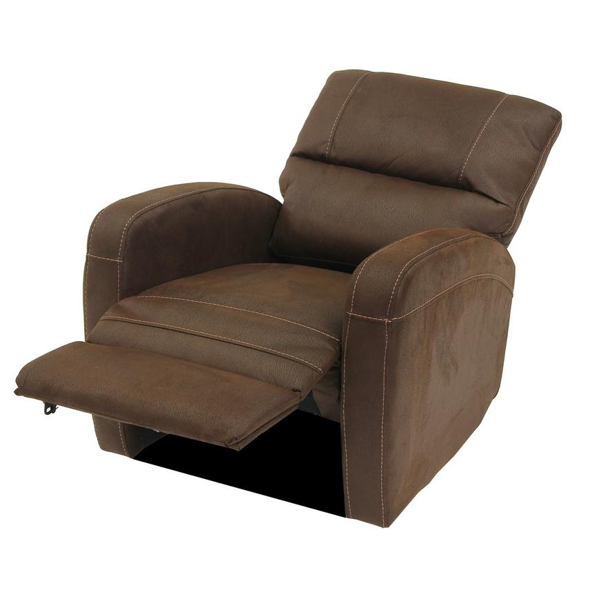 Keelogan Brown Power Motion Recliner  alternate image, 4 of 7 images.