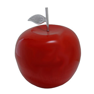 Large Red Apple Table Decor