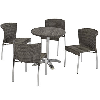 Gerald Gray 5-Piece Patio Set