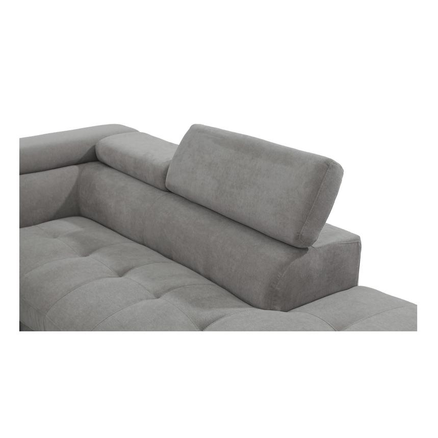 Taheri Gray Sofa w/Right Chaise  alternate image, 4 of 7 images.
