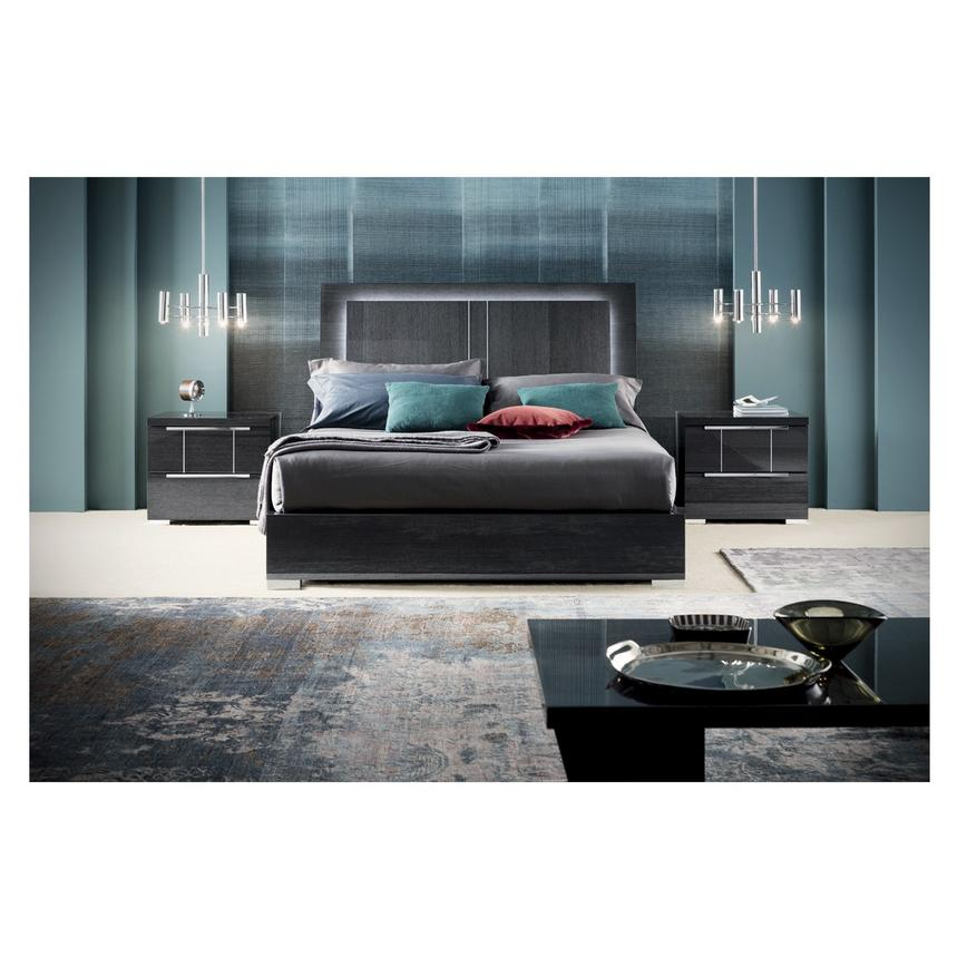 Valery Full Platform Bed Made in Italy  alternate image, 3 of 9 images.