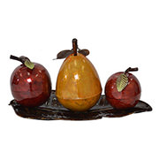 Apple Pear Table Decor  alternate image, 2 of 2 images.