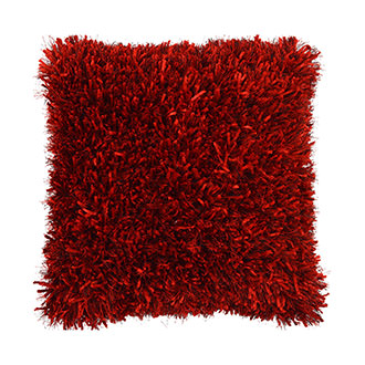 Sheen Red Accent Pillow