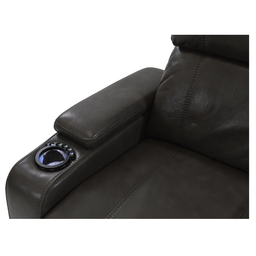 Magnetron Black Power Motion Sofa  alternate image, 4 of 9 images.