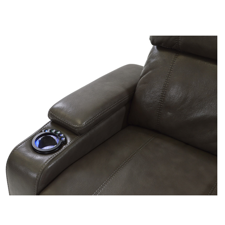 Magnetron Gray Power Motion Sofa w/Console  alternate image, 4 of 7 images.
