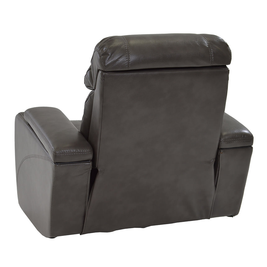 Magnetron Gray Power Motion Recliner  alternate image, 4 of 7 images.