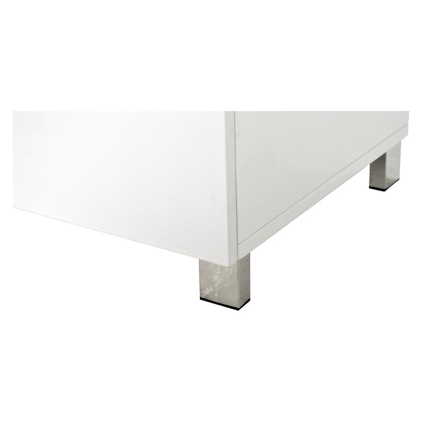 Lucerne White Curio El Dorado Furniture