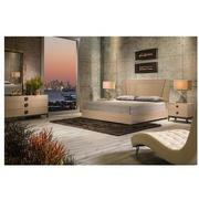 Mont Blanc Gray Queen Platform Bed Made in Italy  alternate image, 2 of 6 images.