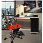 Watson Red Low Back Desk Chair  alternate image, 2 of 7 images.