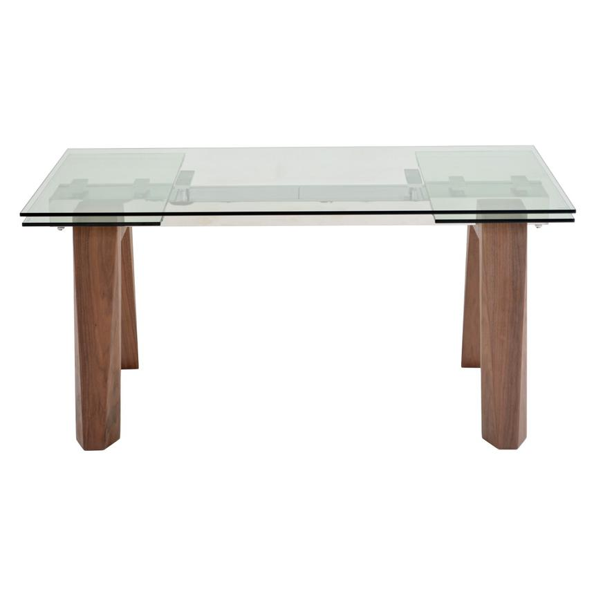 Valencia Brown Extendable Dining Table El Dorado Furniture