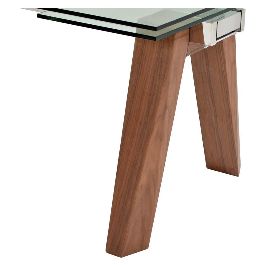 Valencia Brown Extendable Dining Table  alternate image, 8 of 8 images.