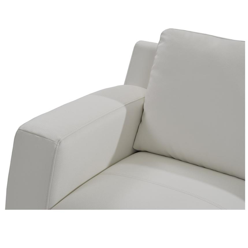 Cantrall White Chair  alternate image, 4 of 6 images.