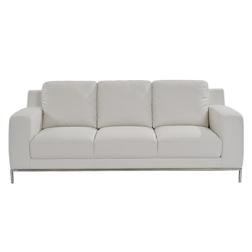 Cantrall White Sofa  alternate image, 3 of 8 images.