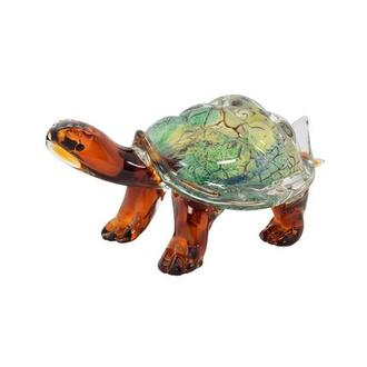 Turtle Glass Sculpture