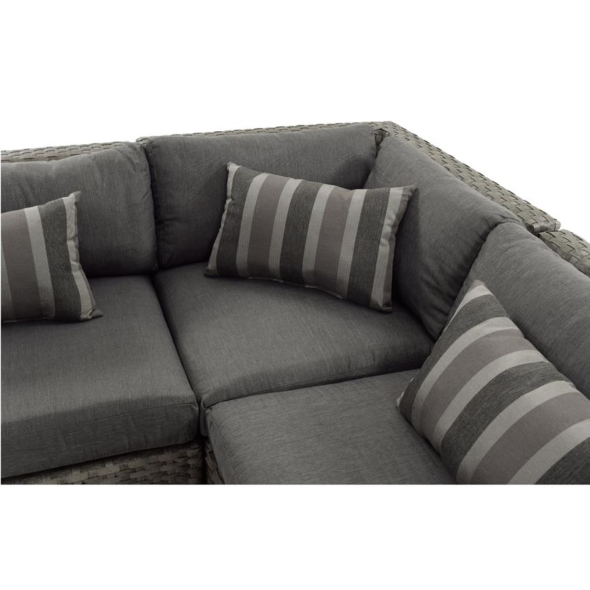 Key Largo Sofa w/Ottoman  alternate image, 4 of 6 images.