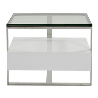 Calypso White Side Table