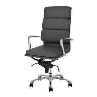 Marconi Gray High Back Desk Chair