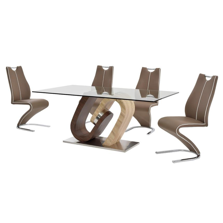 Serpentine 5-Piece Casual Dining Set  alternate image, 3 of 11 images.
