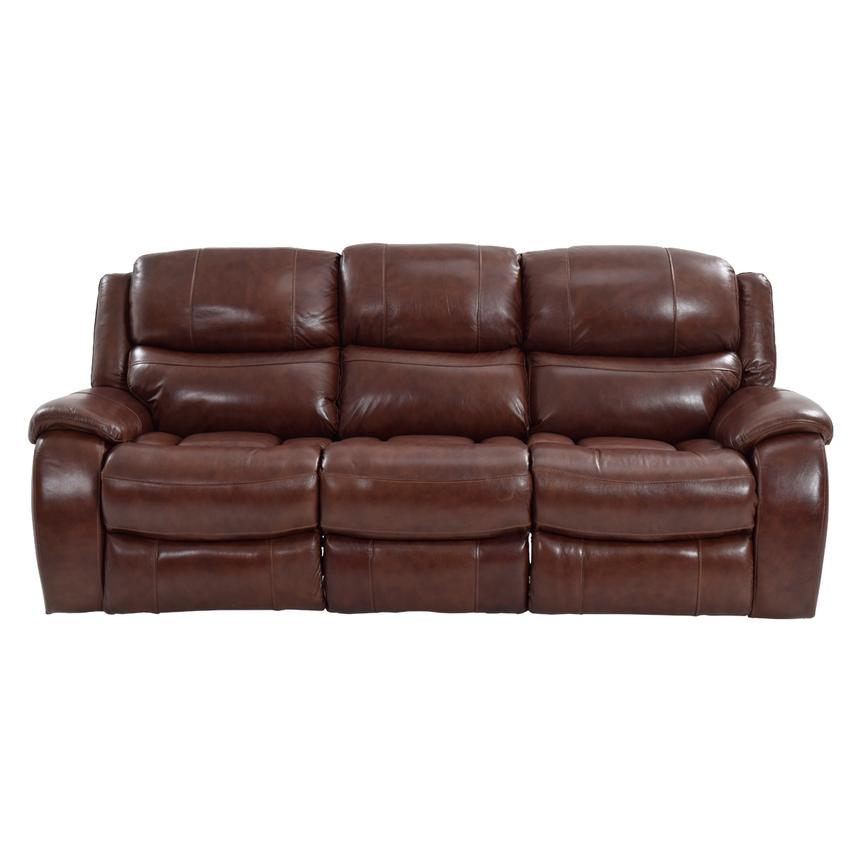 Abilene Power Motion Leather Sofa  alternate image, 4 of 7 images.